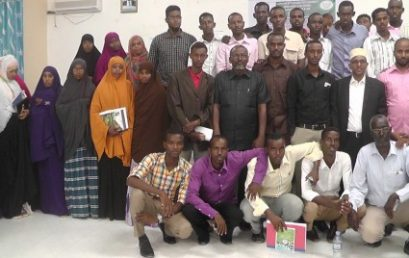 Students of the Faculty of Sharia and Law at the Puntland State University launch a Human Rights Club