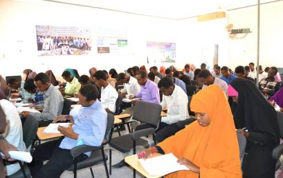 PSU Garowe ends the 1st semester exams in the academic year of 2016/2017.