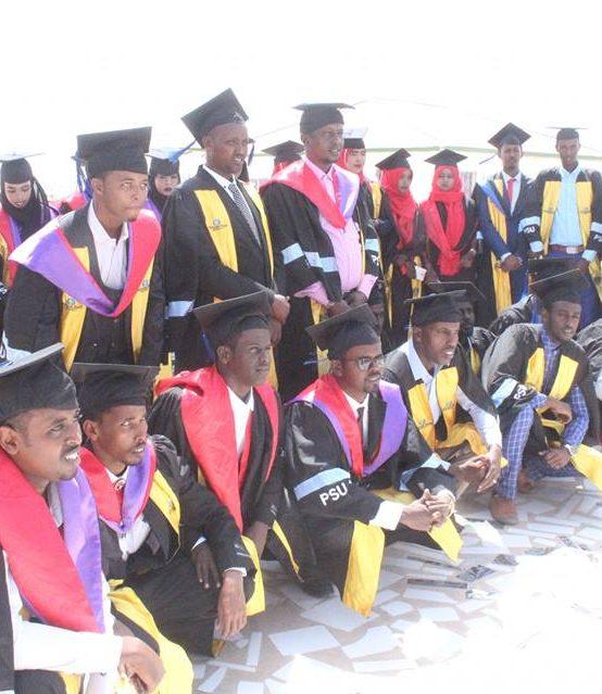 PSU Galkayo Campus Graduation Ceremony